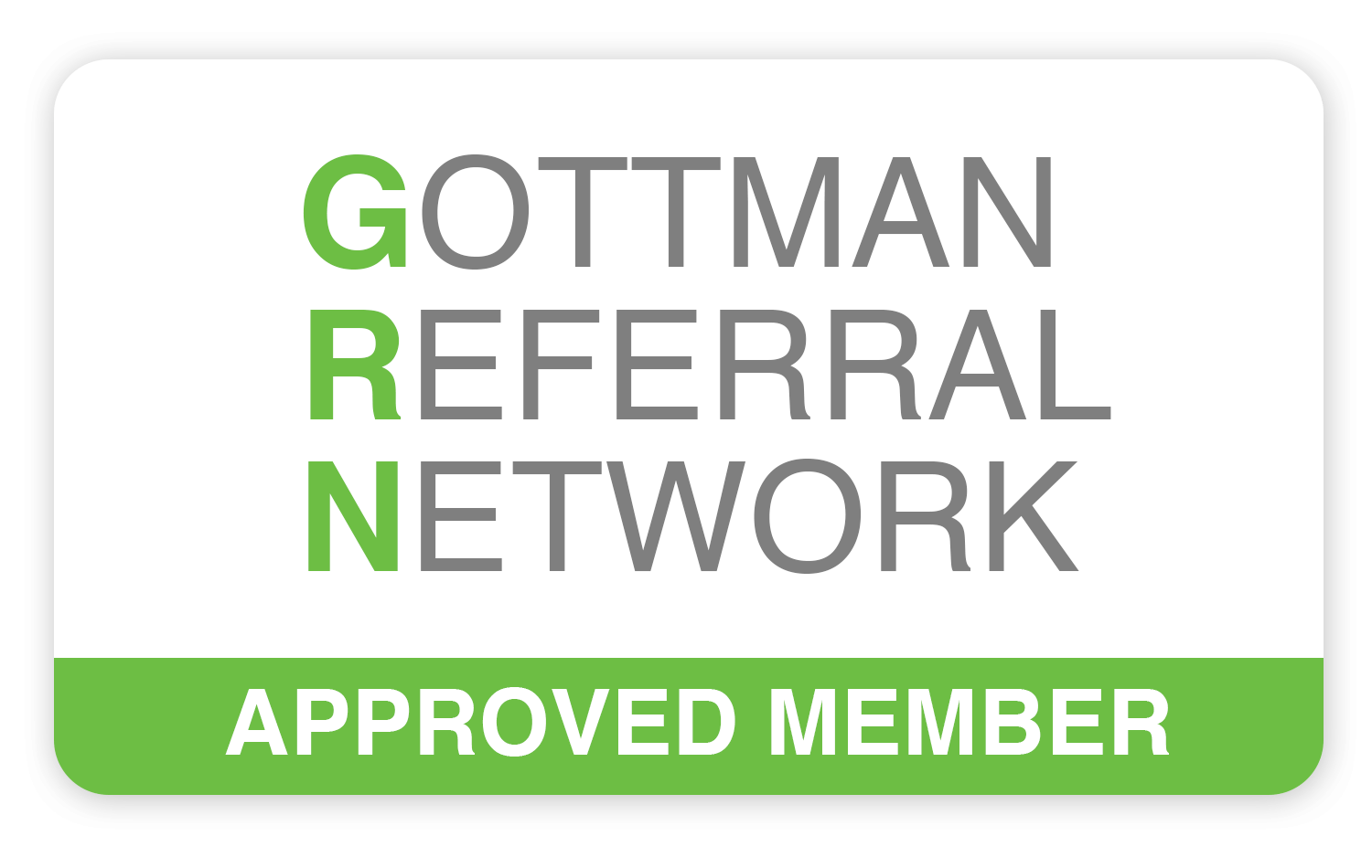 Gottman Referral Network for the Gottman Method couples therapy