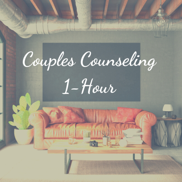 One hour of couples counseling with Chris Cambas, LMFT