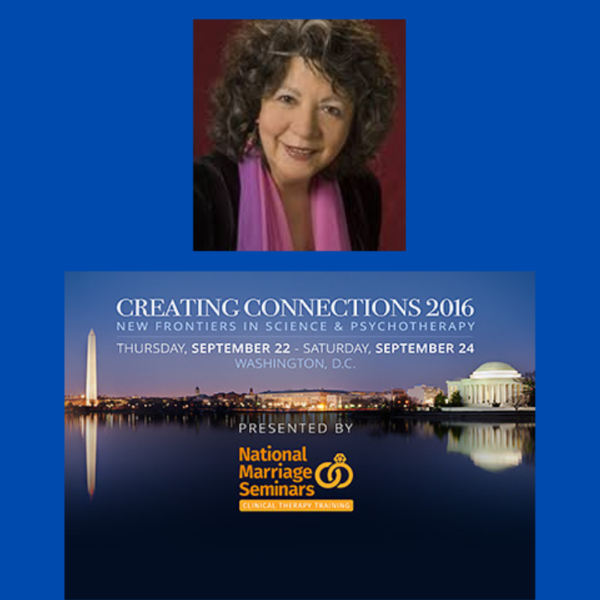 Dr. Janina Fisher presenting Creating Connections Conference