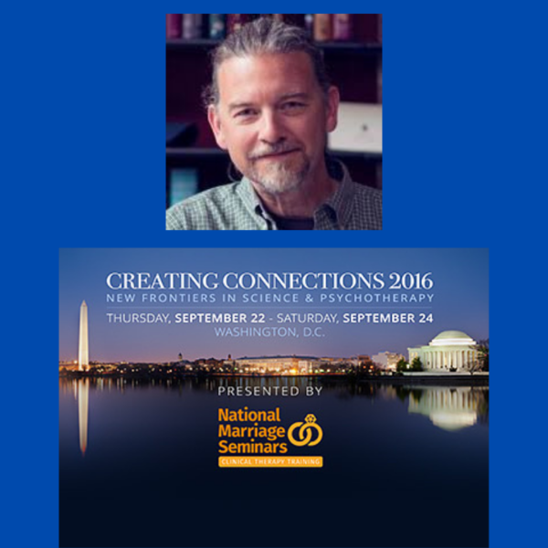 Dr. James Coan presenting at the Creating Connection Conference
