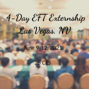 EFT Emotionally Focused Therapy 4 Day Externship