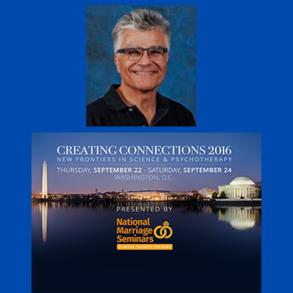 Dr. Lou Cozolino presenting at Creating Connections Conference