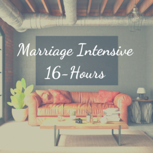 Two Day Marriage Intensive 16 hours for couples in crisis