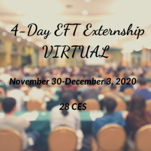Virtual EFT 4-Day Externship
