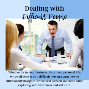 Dealing with Difficult People earn continuing education