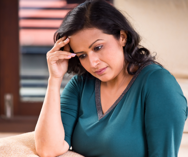 Women wondering if she is in a codependent relationship