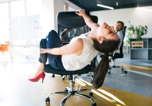 Workplace flirting